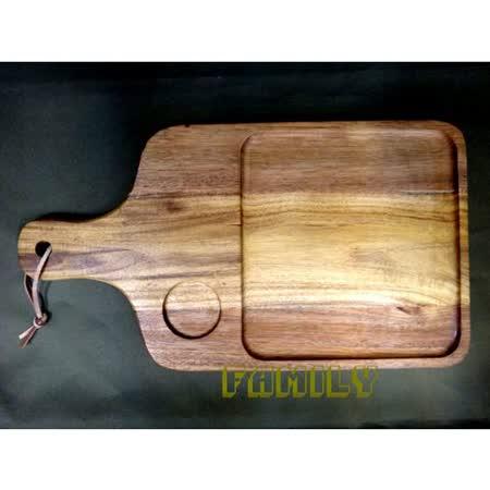日式居家 天然木 木質餐具 - 相思木功能板
