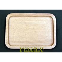 日式居家 天然木 木質餐具 - 實木木盤 - 小