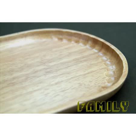 日式居家 天然木 木質餐具 - 手工家居碟 -大