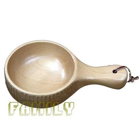 日式居家 天然木 木質餐具 - 手刻料理碗