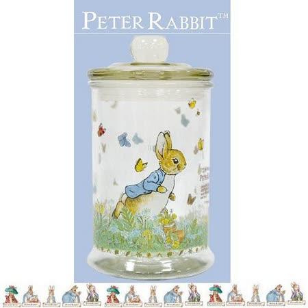 PETER RABBIT 比得兔兄妹 玻璃儲藏罐 700ML -小-MGS0925