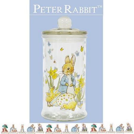 PETER RABBIT 比得兔兄妹 玻璃儲物罐 900ML -中-MGS0924