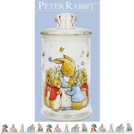 PETER RABBIT 比得兔兄妹 玻璃儲藏罐 1200ML -大-MGS0923