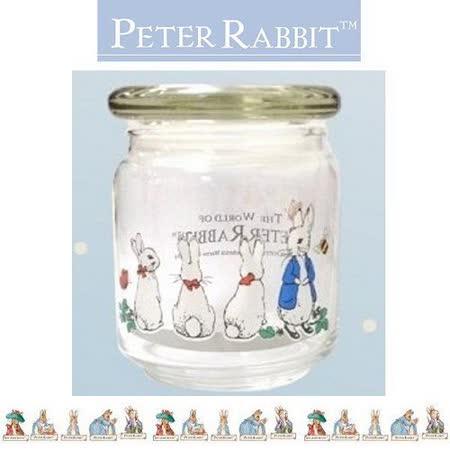 PETER RABBIT 比得兔兄妹 玻璃密封罐 500ML-MGS088