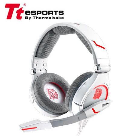 TteSPORTS 曜越 克諾司 CRONOS 電競耳機麥克風-白色