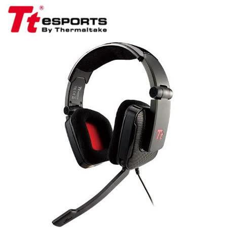 TteSPORTS 曜越 SHOCK SHK002ECBL 電競全罩耳機麥克風-黑