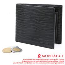 MONTAGUT-夢特嬌【Beach BoY】10卡2照2夾層 皮夾M640003
