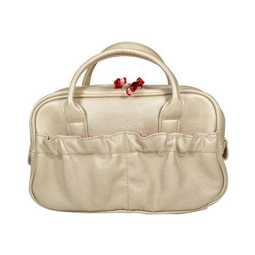 SOFINA蘇菲娜 日本限定款和風燦金手提包(25*15*11cm)
