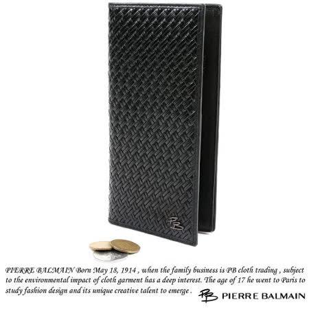 PB-皮爾帕門-【時尚編織】皮夾P547001
