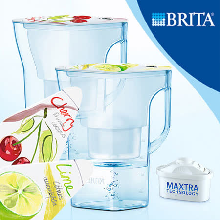 【德國BRITA】 Navelia 若薇亞型2.3L濾水壺 (內含1支濾芯)