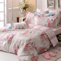 義大利La Belle<BR>防蹣純棉兩用被床包組