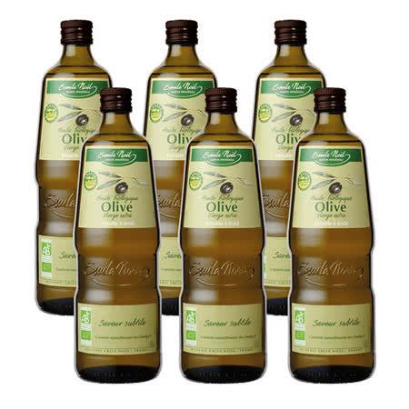 【法國艾米爾諾耶】有機extra virgin初榨風味橄欖油一箱(6入/箱)