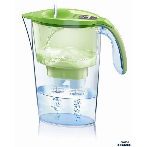 【LAICA 萊卡】淨水壺(一壺一芯) 晶漾綠