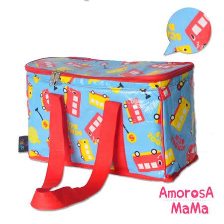 【Amorosa Mama】媽咪多用手提式保冷保溫袋/野餐包/保鮮袋 (巴士)