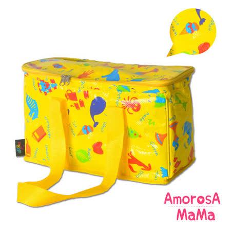 【Amorosa Mama】媽咪多用手提式保冷保溫袋/野餐包/保鮮袋 (英文單字)
