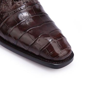 Genny Iervolino鱷魚皮鞋
