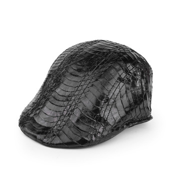 Genny Iervolino鱷魚皮帽