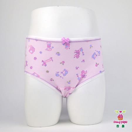 【Anny pepe】女童淑女狗三角褲/淺紫_Modal吸濕排汗款