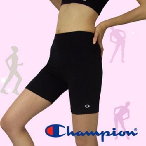 Champion運動短褲【F3黑色】˙加強壓縮小腹˙修飾下半身