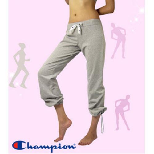 Champion長褲【F4灰色】˙版型超優˙褲腳有束繩