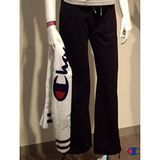 Champion長褲【F4黑色】˙版型超優˙褲腳有束繩