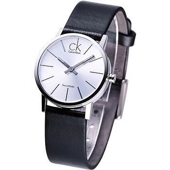 ck post-minimal 極簡系列女錶【白面】