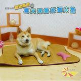 【凱蕾絲帝】寵物紙纖透氣止滑鋪棉睡墊-小