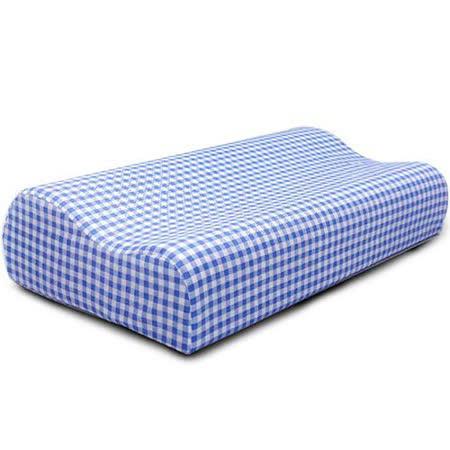 Lisan慢活族備長炭惰性棉減壓安眠枕《藍色1組入》