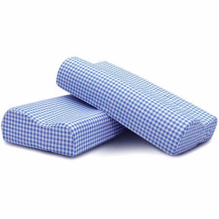 Lisan慢活族備長炭惰性棉減壓安眠枕《藍色2組入》