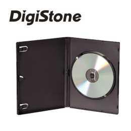 DigiStone 單片光碟片精裝優質軟盒/黑色 20PCS