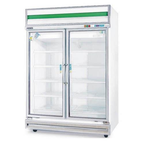 餐飲專用 雙門玻璃型1040公升冷藏櫃(冷凍櫃、冰櫃、冰箱)型號TA-420