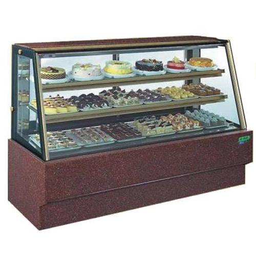 斜玻大理石型 7尺西點蛋糕櫃(冰櫃、冷藏櫃、冰箱)型號C-107HS