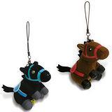 【Ponny】小賽馬手機吊飾(2入)