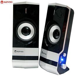 KINYO搖滾巨石2.0二件式耳麥防磁擴大音箱(PS-292)