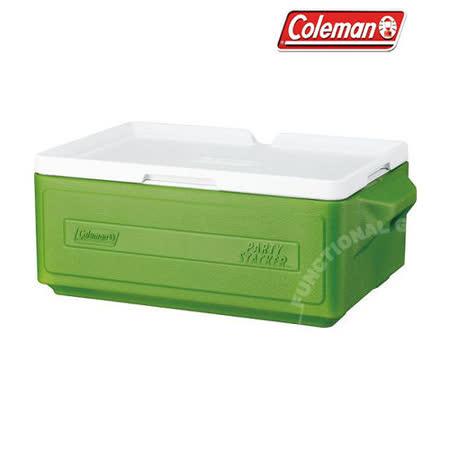 【美國 Coleman】 23.5L置物型冰桶(原廠公司貨) / CM-1327 綠