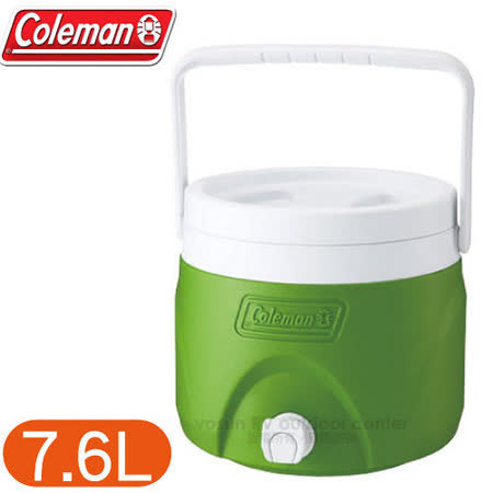 【美國 Coleman】7.6L可堆疊置物型飲料冰桶 /CM-1364 綠