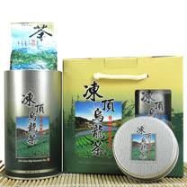 【醒茶莊】精選清香凍頂烏龍茶禮盒300g(1組)