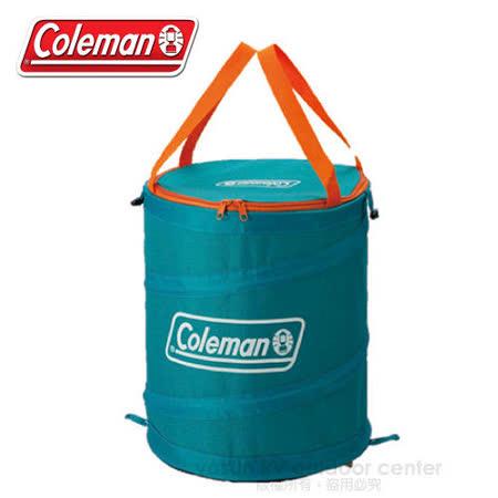 【美國 Coleman】萬用魔術桶/壓縮摺疊桶.多用途RV筒_ CM-5603 藍