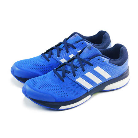(男)ADIDAS REVENGE BOOST 2 M 慢跑鞋 藍/白-B22917
