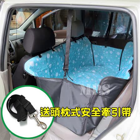【汽車第二排專用】雙層 3D 寵物墊/防污墊/車墊《WN-3D018》