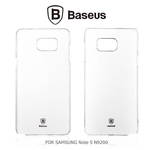 BASEUS Samsung Note 5 N9200 N9208 太空殼