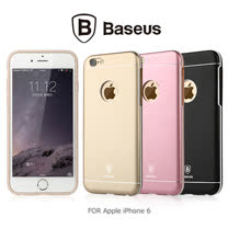 BASEUS Apple iPhone 6 4.7吋 TPU+金屬背殼
