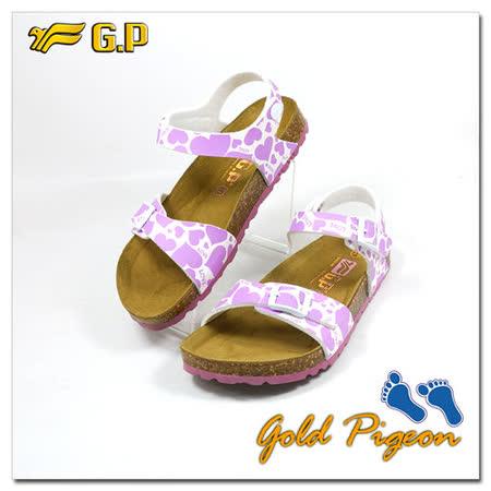 【GP】兒童柏肯鞋31-35尺碼-B551-41 紫色共二色