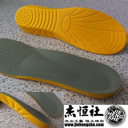 JHS杰恆社鞋墊款136舒適女與童小碼段US2-6-運動鞋墊藍球慢跑網球羽球鞋墊前掌0.4cm後跟1.2cm慢彈力PU底層二對sd141