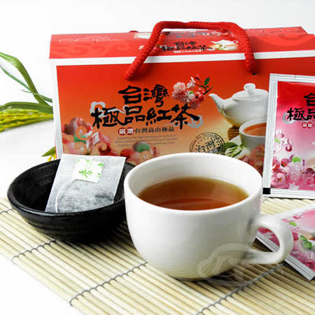 【醒茶莊】台灣極品梨香紅茶袋茶禮盒2盒