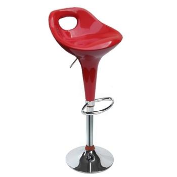【環球】高級鍍鉻金屬圓盤腳座-吧台椅/高腳椅/吧檯椅(三色可選)-2入/組