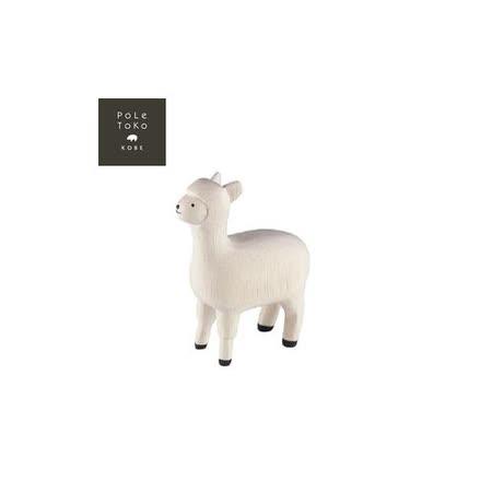 日本T-Lab職人手做 療癒系 木質動物-羊駝
