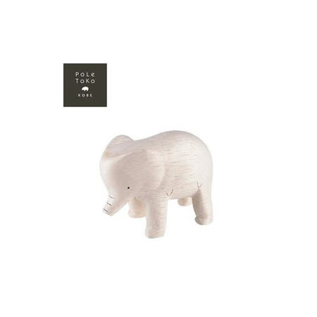 日本T-Lab職人手做 療癒系 木質動物-大象