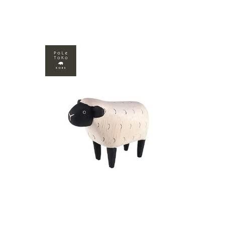 日本T-Lab職人手做 療癒系 木質動物-羊