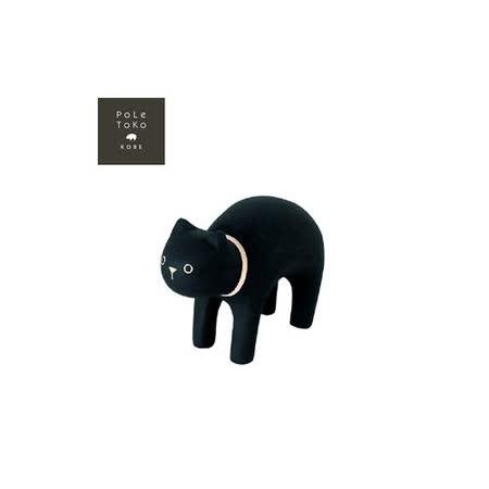 日本T-Lab職人手做 療癒系 木質動物-黑貓